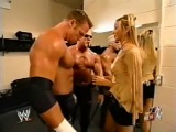 WWE RAW: Scott Steiner, Test & Stacy Keibler - Backstage (5 Мая 2003)